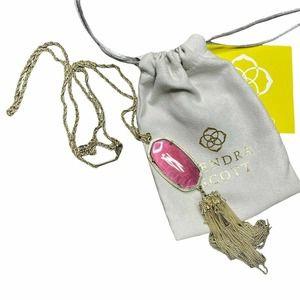 KENDRA SCOTT | Rayne Long Tassel Pendant Necklace